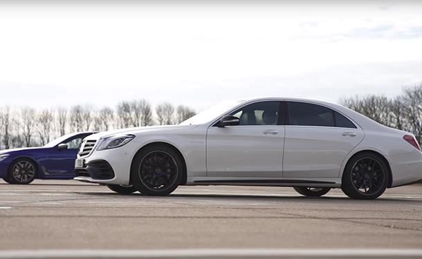 شاهد: من الأسرع BMW M760 أم S63 من مرسيدس-AMG؟