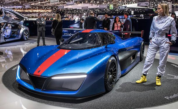 الإيطالية بينينفارينا تطور سيارة كهربائية منافسة لبوجاتي تشيرون