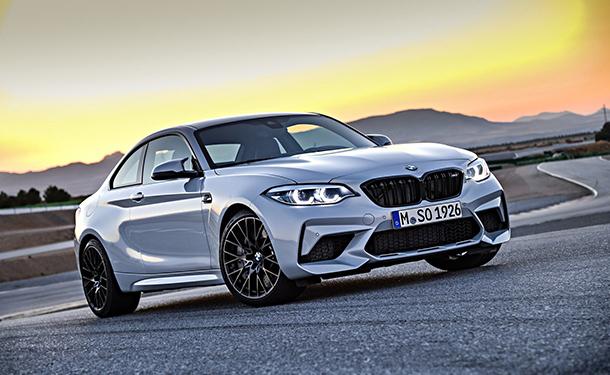 الكشف عن BMW M2 Competition الجديدة قبل ظهورها في بكين