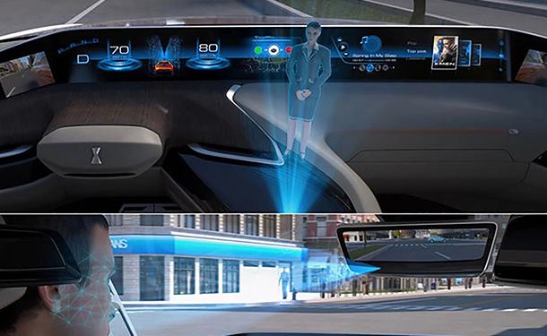 شاهد: شركة صينية تقدم للسائق مساعد هولوجرامي ثلاثي الأبعاد بسيارتها الجديدة