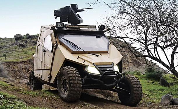 شاهد: سيارة بالسان ياجو الحربية الاسرائيلية المخصصة للدفاع عن الحدود