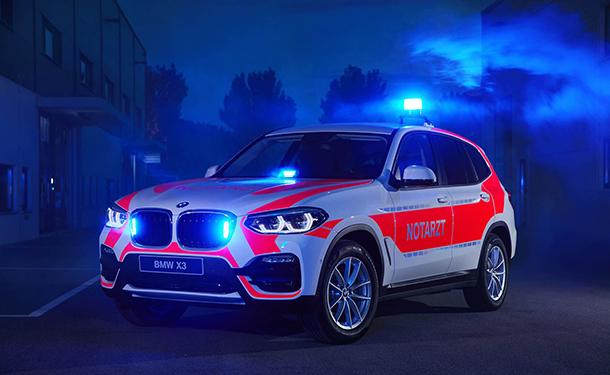 مجموعة BMW تقدم سيارات شرطة وإنقاذ جديدة بمعرض RETTmobil الأوروبي