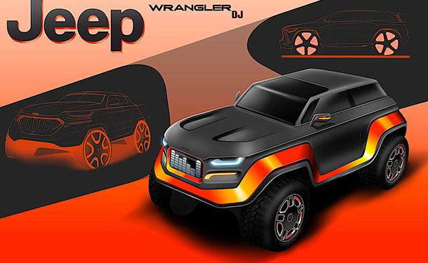جيب تختار الفائز بمسابقة تصميم سيارة رانجلر من 2030