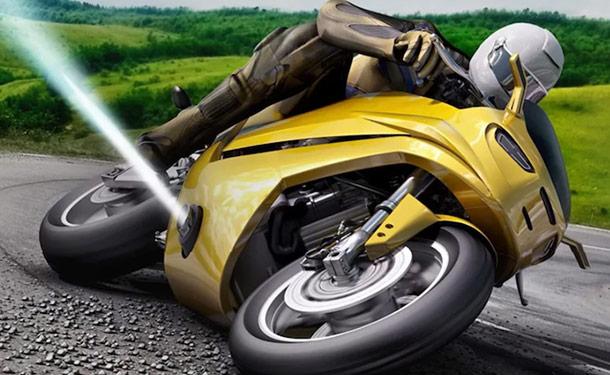 شاهد: تكنولوجيا مستخدمة بالمركبات الفضائية ستجعل الدراجات النارية أكثر أمانا