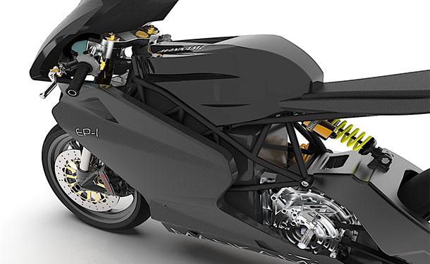 دراجة نارية كهربائية ببطارية مداها 500 كيلومتر تنطلق قريبا من الهند