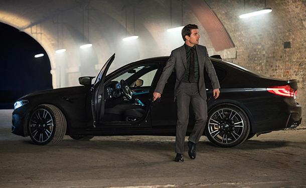 شاهد: BMW M5 الجديدة تشارك توم كروز بطولة فيلم Mission Impossible الجديد
