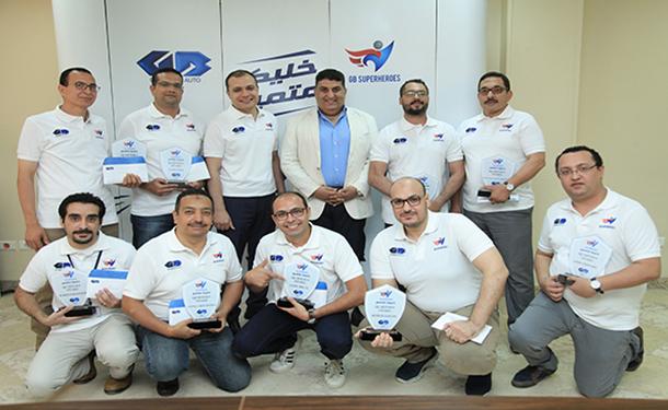 جي بي غبور أوتو تهدي 10 موظفين رحلات مدفوعة التكاليف لتشجيع منتخب مصر في روسيا