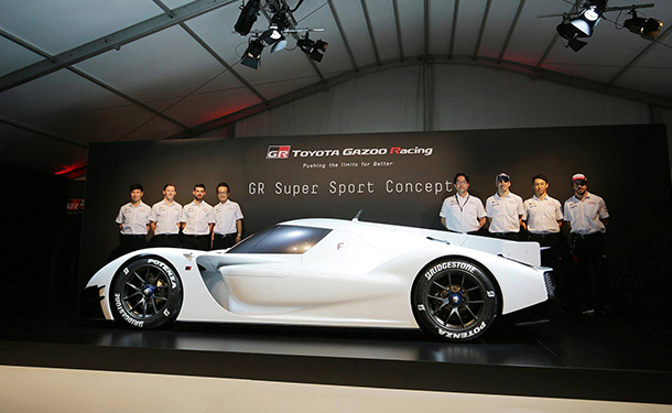 تويوتا تعلن عن انتاج GR Super Sport الخارقة بقوة 986 حصان