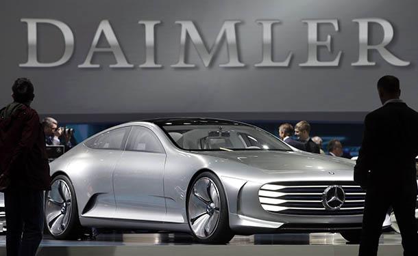دايملر تختار هذه الشركة لتصنيع معالجات الذكاء الصناعي بسياراتها ذاتية القيادة