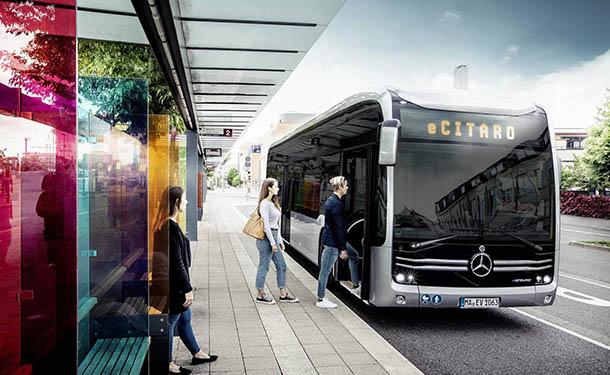 مرسيدس-بنز تكشف عن أتوبيس النقل العام الكهربائي eCitaro
