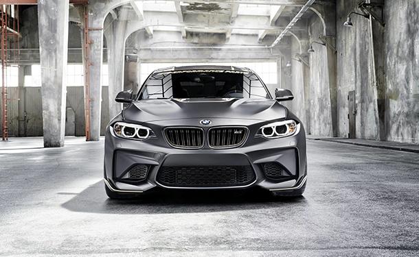 نموذج جديد من BMW M2 ينطلق من مهرجان جودوود الإنجليزي للسرعة