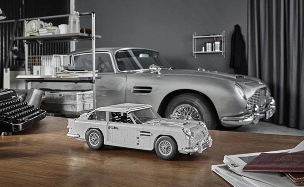 شاهد: ليجو تطلق نسخة مصغرة رائعة من أشهر سيارات جيمس بوند