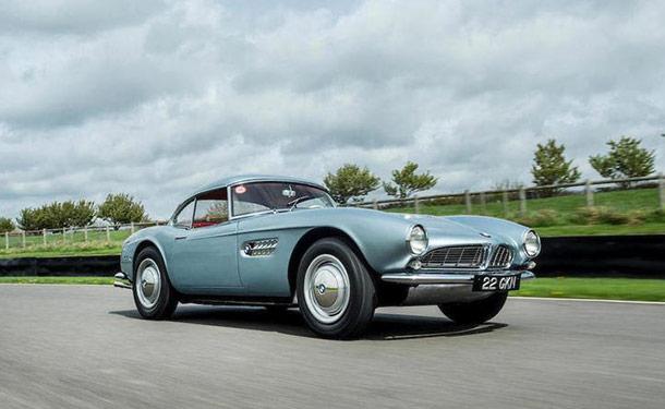 سيارة كلاسيكية موديل 1957 تحقق رقم قياسي عالمي لـ BMW