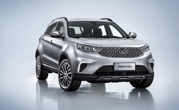 فورد تعيد تقديم سيارتها تيريتوري من أجل سوق السيارات الصيني فقط