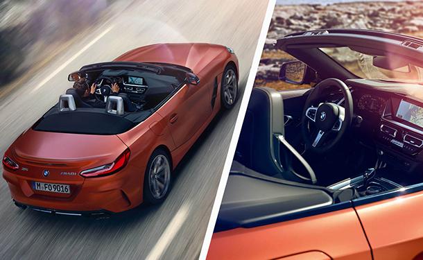 BMW تكشف رسميا عن موديل 2019 من Z4 M40i