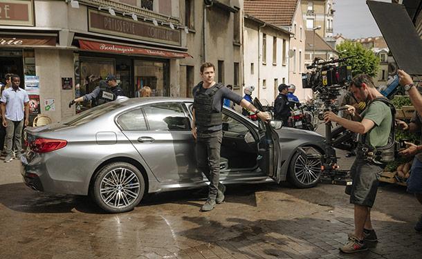 شاهد: BMW M5 تشارك في بطول مسلسل الأكشن Jack Ryan