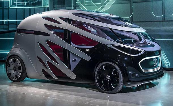 شاهد: بنموذج Urbanetic الجديد.. مرسيدس-بنز تتخيل شكل السيارات بالمستقبل القريب
