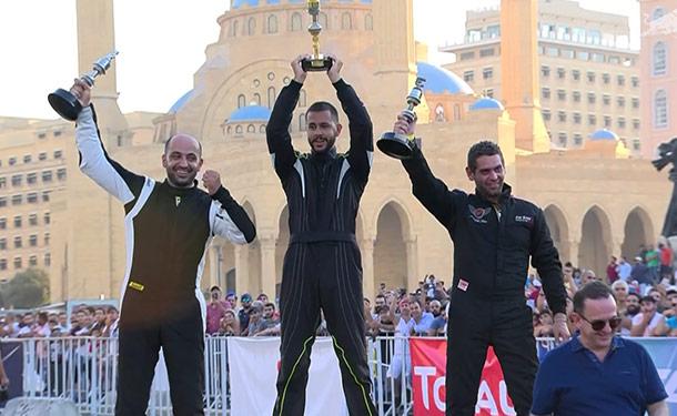 هشام الخطيب يفوز بالمركز الثالث في نهائي ريد بل كار بارك دريفت الشرق الأوسط 2018