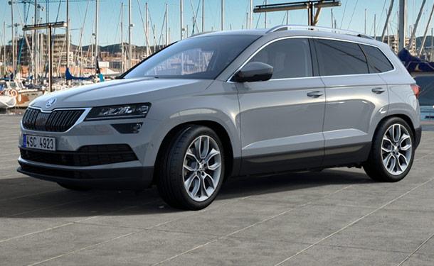 سكودا تقدم كاروك SUV الجديدة بمعرض أوتوماك فورميلا 2018