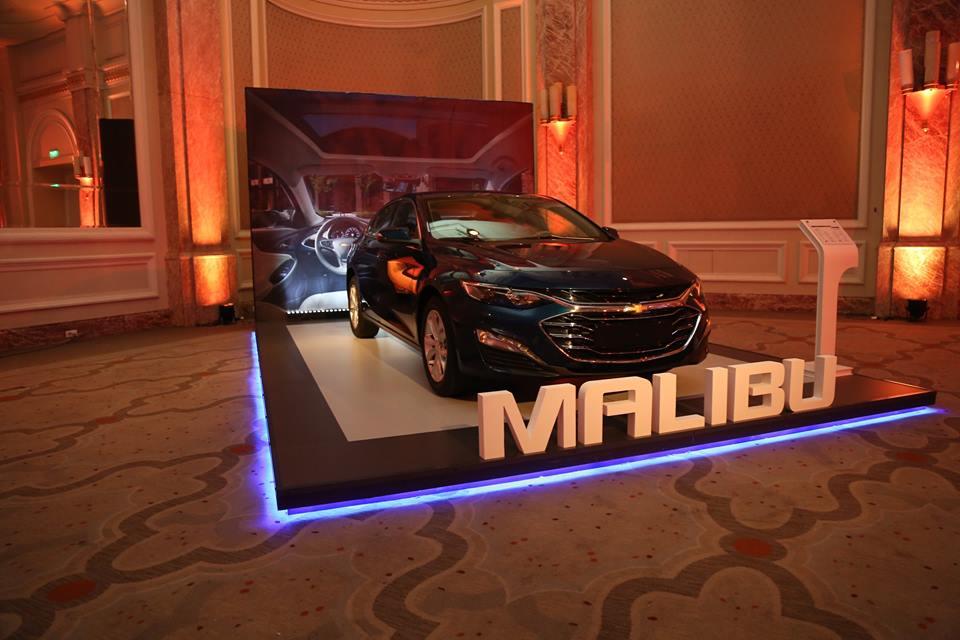 بالصور : جنرال موتورز مصر والمنصور للسيارات يكشفا النقاب عن ماليبو 2019 لأول مرة فى مصر