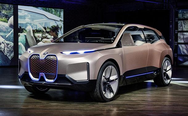 لوس أنجلوس 2018: BMW تكشف عن نموذج iNEXT الكهربائي