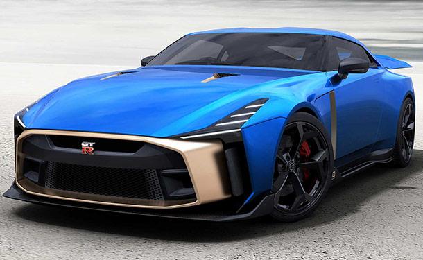 شاهد: النسخة النهائية من نيسان GT-R50 تنطلق بسعر خيالي
