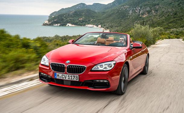 تجربة قيادة: BMW الفئة السادسة المكشوفة الجديدة في البرتغال