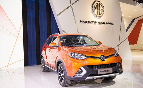 طراز إم جي جي إس الجديد وعائلة سيارات إم جي تظهر للمرّة الأولى في معرض دبي الدولي للسيارات 2015