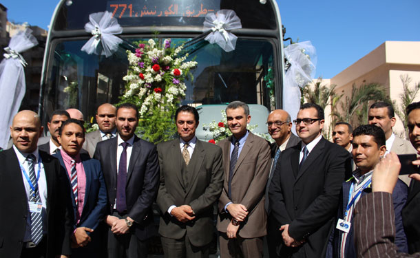 جي بي غبور أوتو تسلم الدفعة الاولى من أتوبيسات النقل العام بمحافظة الإسكندرية