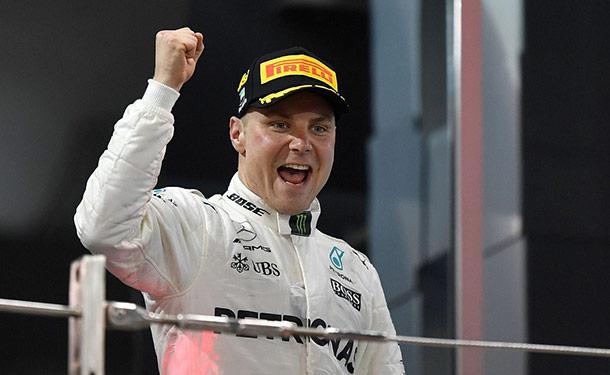 فالتيري بوتاس يفوز بأخر جولات فورمولا 1 هذا الموسم بأبوظبي