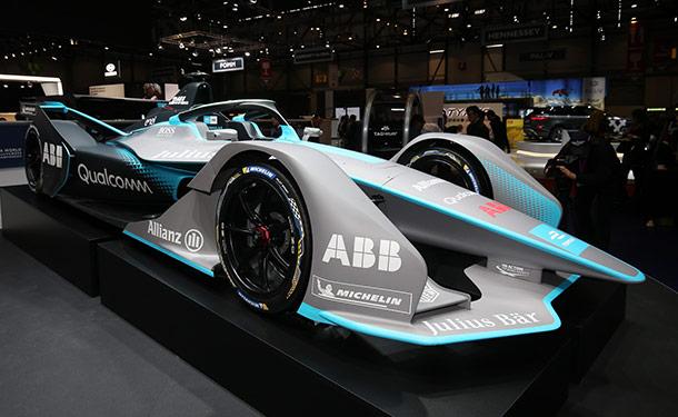 جنيف 2018: فورمولا E تقدم الجيل الجديد من سياراتها بتصميم رائع