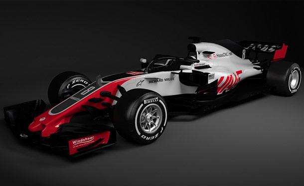 شاهد: هاس أول فريق يكشف عن سيارته بموسم فورمولا 1 2018
