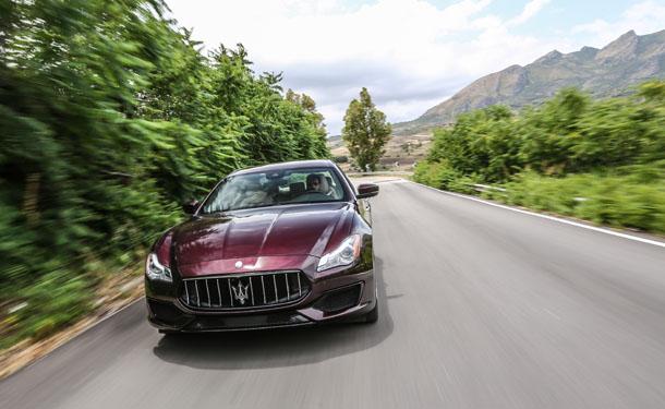 تجربة قيادة: مازيراتي كواتروبورتي الجديدة في صقلية الايطالية