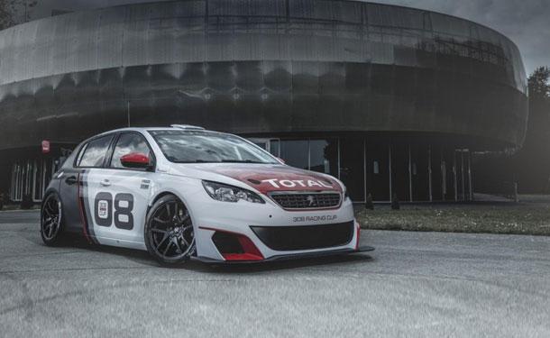 308 Racing Cup سيارة سباقات من بيجو بقوة 308 حصان