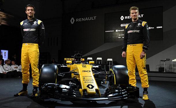 شاهد: رينو تكشف عن سيارة فريقها لموسم 2017 من فورمولا 1