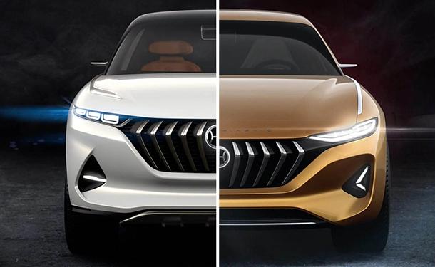 بكين 2018: شركة صينية تقدم سيارتين سيدان وSUV كهربائيتين من تصميم بينينفارنيا