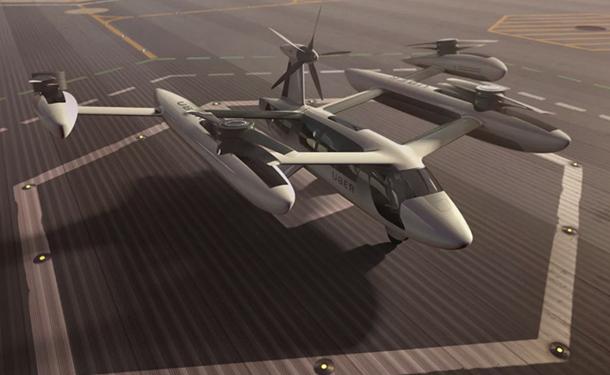 5 شركات للطائرات ومركبات الفضاء تصمم تاكسي أوبر الطائر الجديد