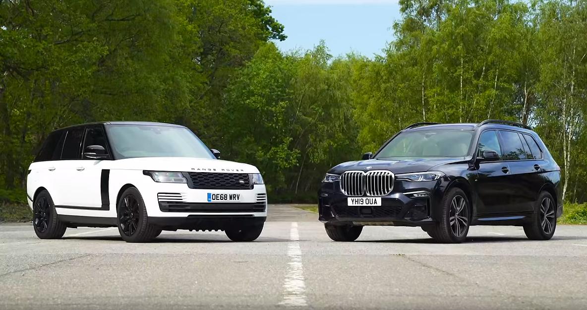مقارنة بين BMW و Rang Rover