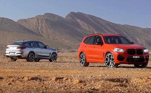 سيارات 2020 من X3 M و X4 M من BMW
