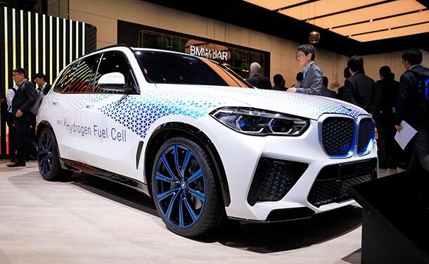 BMW X5 العاملة بالهيدروجين