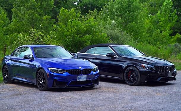 مرسيدس-AMG و BMW M4 سيارات