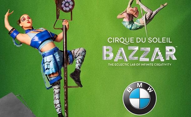 BMW مصر تصبح راعي السيارات الرسمي لعروض سيرك الشمس الكندي في مصر
