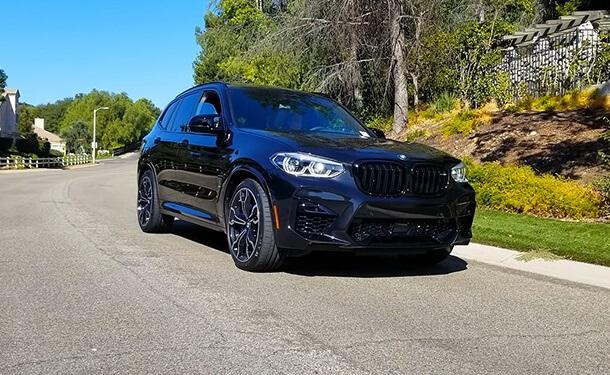 عرض تفصيلي لمميزات BMW X3 M Competition موديل 2020