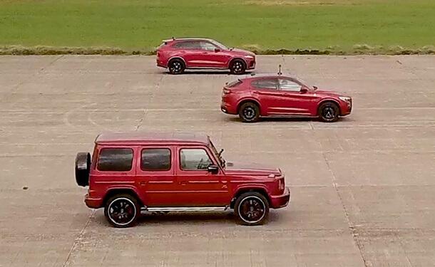 من أسرع SUV..ألفا روميو ستيلفيو أم G63 من مرسيدس-AMG أم جاجوار F-Pace