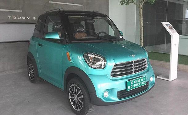 سيارة Mini M1 الكهربائية الصينية