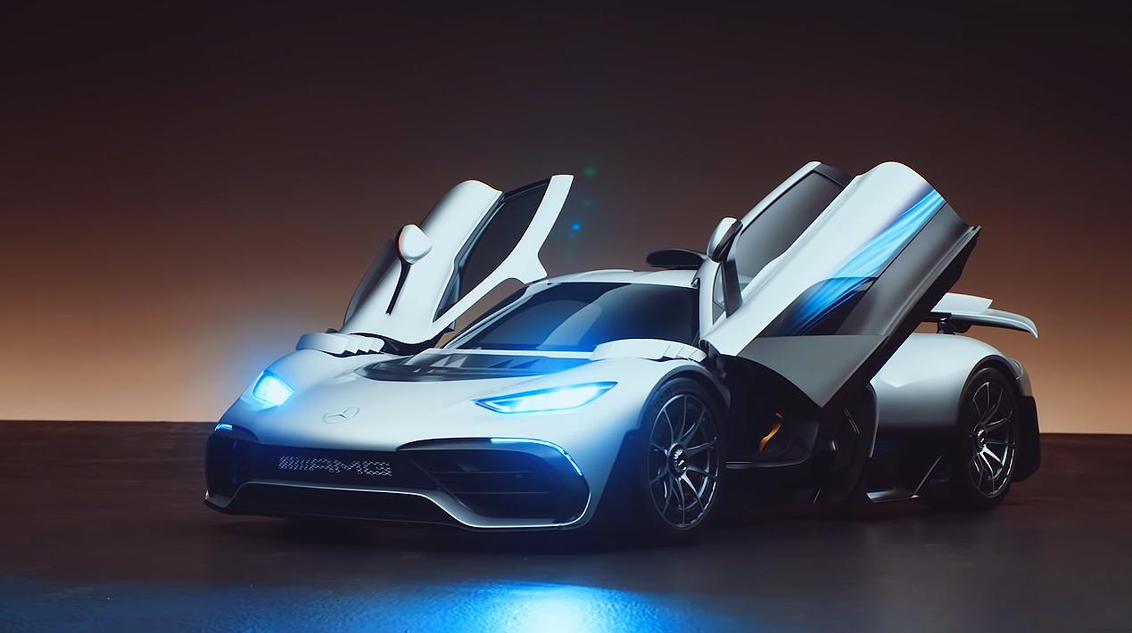 سياره-مرسيدس-AMG-فورملا