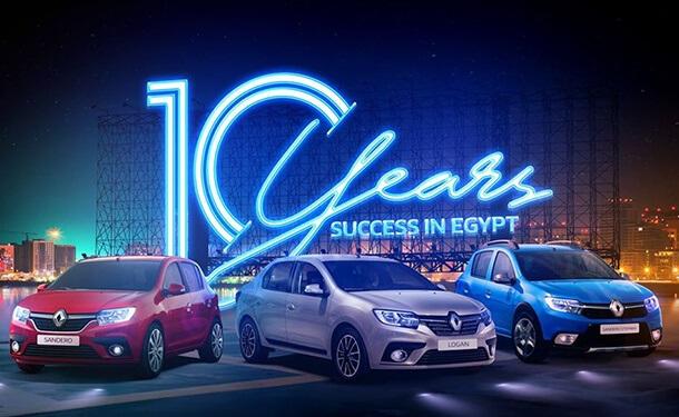 سيارات رينو لوجان في السوق المصري