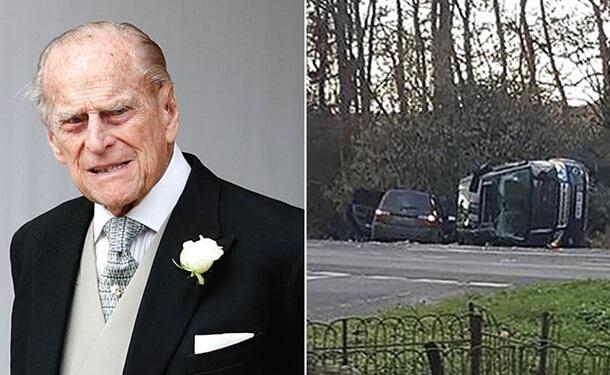 -حادثه-سيارات-اشجار-طريق-الأمير-فيليب