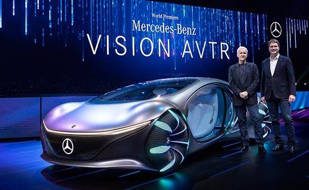 سيارة مرسيدس-بنز AVTR