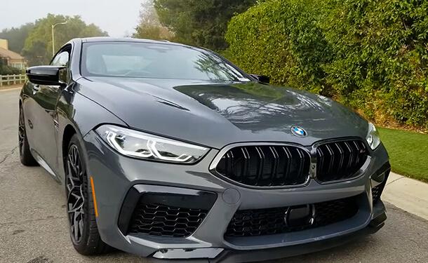 BMW M8 كوبيه 2020